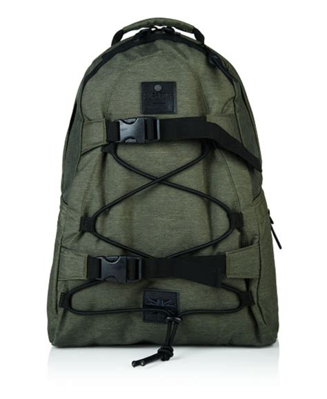 mens surplus backpack in olive marl superdry