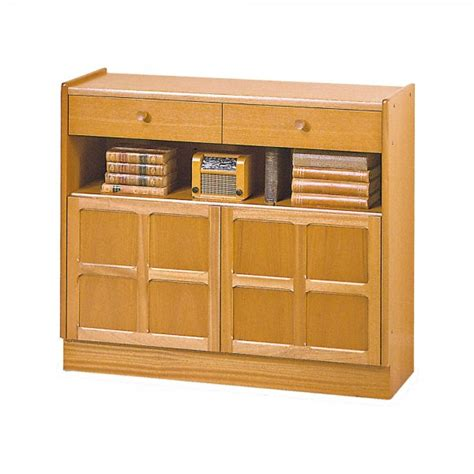 Nathan Classic Low Bookcase With Doors At The Best Prices Low Bookcases With Doors