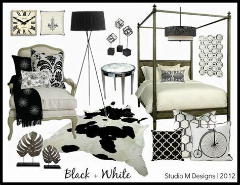 The Studio M Designs Styling The Studio M Designs Black White Bedrooms