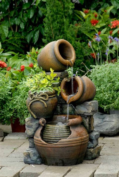 unique backyard fountains   impossible  resist