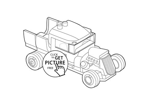 coloring pages lego cars lego car coloring pages