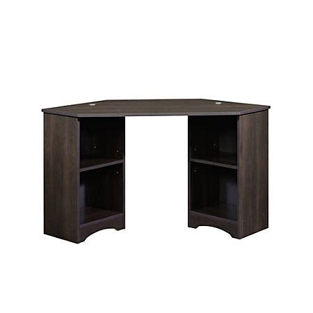 sauder corner desk cherry sauder beginnings corner desk cinnamon cherry by office