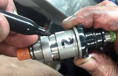 boat engine sputtering at full throttle fuel injector cleaning boatus magazine