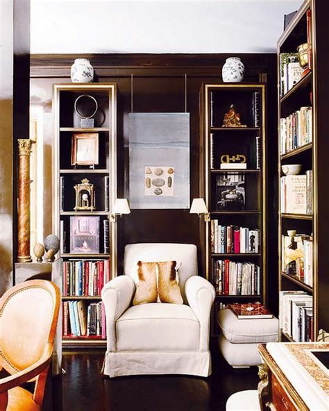 library living room 50 ideas to organize a home library in a living room shelterness