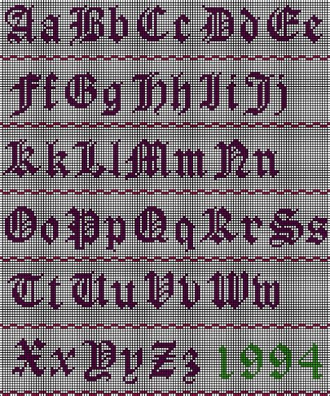 pattern english 49 best images about cross stitch fonts on pinterest