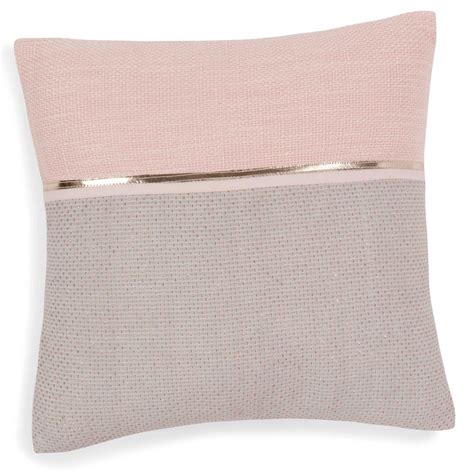 kissen altrosa grau kissenbezug aus baumwolle rosa grau 40 x 40 cm alanna