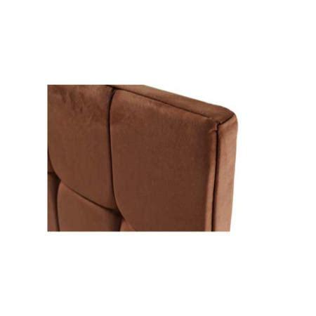brown suede headboard humza amani milli faux suede deep buttoned headboard in