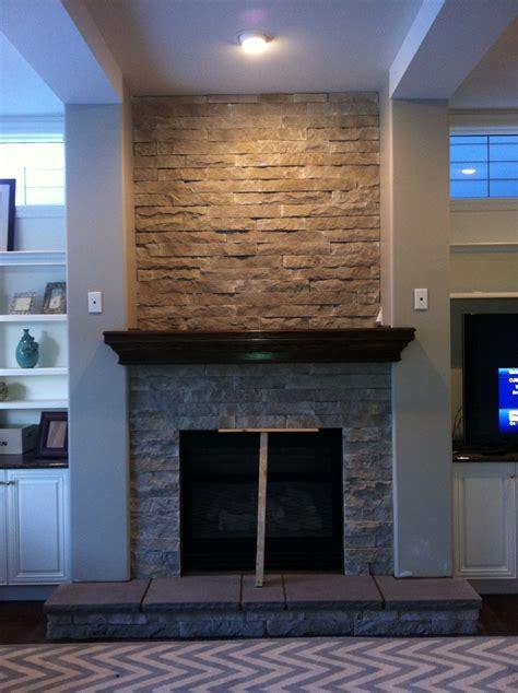 eldorado fireplace stacked ideas