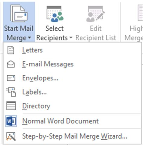 Merge Sections In Word by How To Use Mail Merge In Word 2013 Tutorials Tree Learn