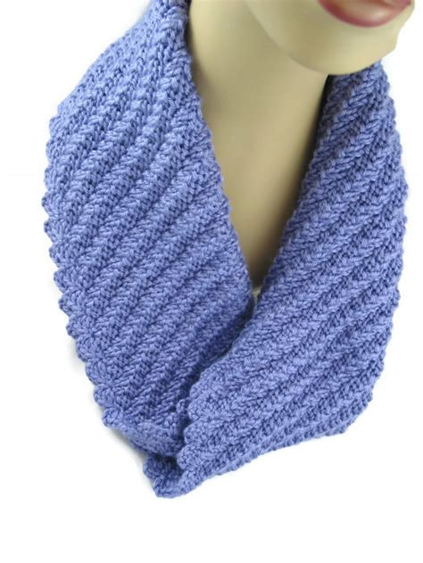how to knit cowl neck scarf knit infinity scarf lavender blue cowl neck warmer