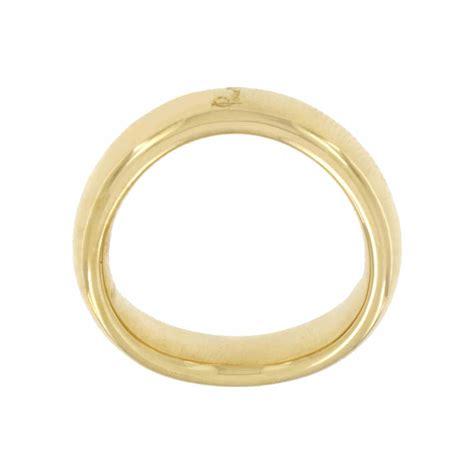 fede pomellato anello fede pomellato in oro giallo misura 22 orocash