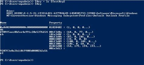 format date variable powershell powershell get binary data from registry key stack