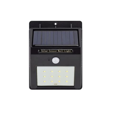 applique da esterno con sensore di movimento applique led solare 1w con sensore di movimento