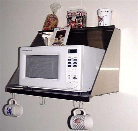 standard microwave shelf frigo design