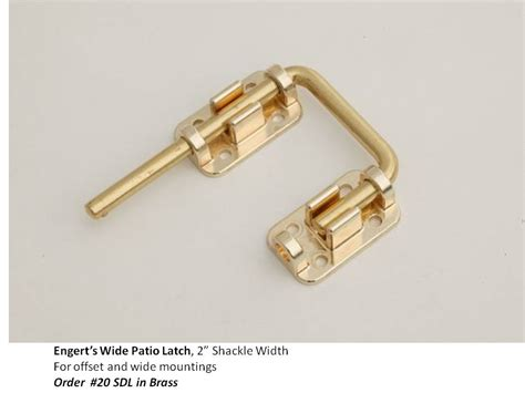 backyard door latch patio door latch collection 183 engert s handle latches