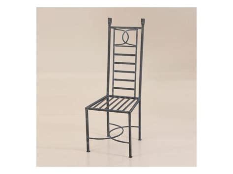 sedie in ferro battuto per interni sedia in ferro battuto per esterni con schienale alto