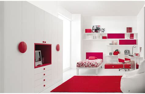 home design red and white bedroom red and white teen bedroom concept 1 stylehomes net