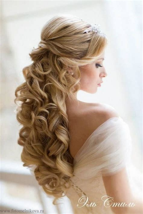 hairstyles down and curled down curly wedding hairstyles
