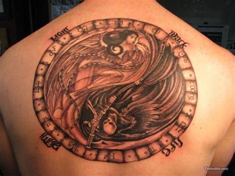 life and death tattoo 25 best ideas about on