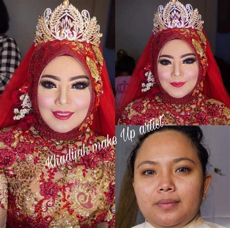 Makeup Khadijah Azzahra queennaa s zone persiapan pernikahan dan info pricelist