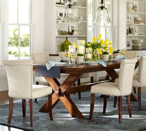 decoracion comedor mesa de vidrio centros de mesa decoracion elegante para comedores