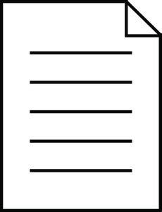 documents clipart document clipart image plain document icon