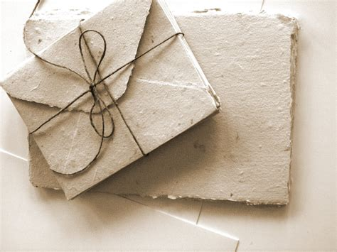 handmade paper cards and envelopes set of 10
