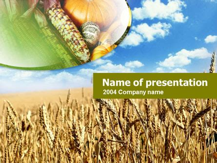 Agriculture Free Presentation Template For Powerpoint And Keynote Ppt Star Agriculture Powerpoint Templates