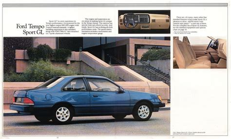 coal 1992 ford tempo gls sho little brother that you didn t know existed