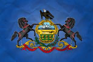 of pennsylvania colors flag of pennsylvania with paper texture it for free