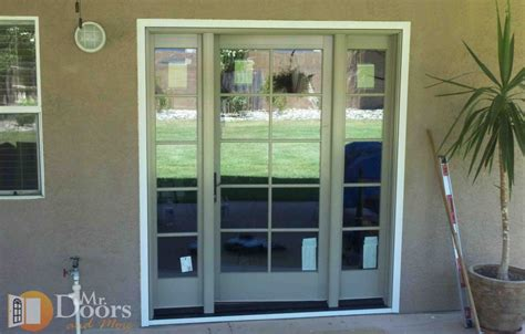 Hinged Patio Doors With Sidelights Patio Door With Vented Side Lights Patio Building