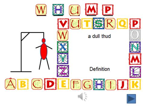 Hangman Powerpoint By Sabyrne Teaching Resources Tes Hangman Powerpoint