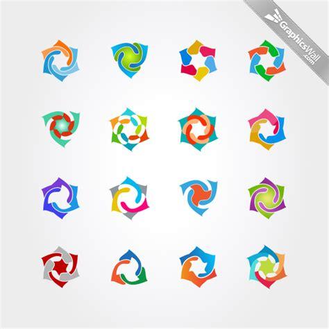 free logo design elements vector free logo vector symbols set 07 graphicswall