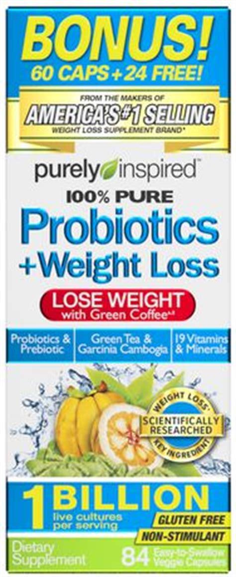 weight management probiotics purely inspired probiotics weight management walmart ca