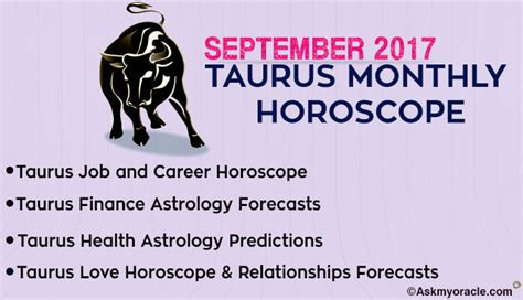 Taurus Monthly Horoscope by Genuine Horoscope With Ask Oracle