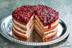 granatapfel kuchen pomegranate mousse cake