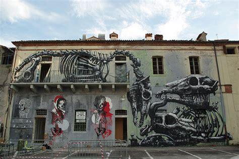imagenes impresionantes graffitis impresionantes graffitis de animales en las paredes