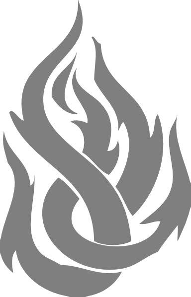 l flame clipart gray flame clip art at clker vector clip art online