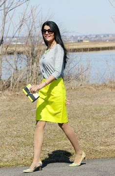 Sc13 Polkadot stripes and bows every season striped pencil skirt by asos style delights
