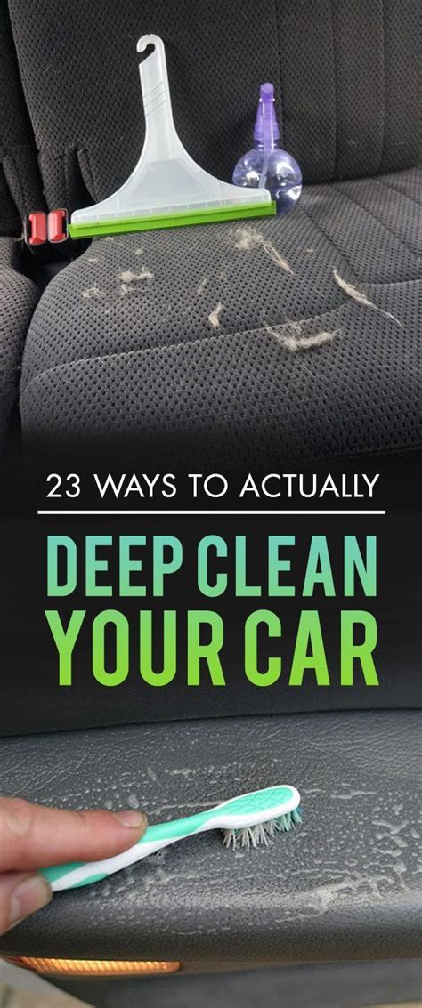 how to deep clean car upholstery 25 best ideas about car accessories on pinterest car