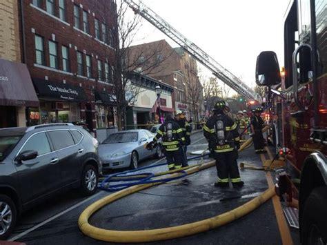 fire destroys historic madison building madison nj patch