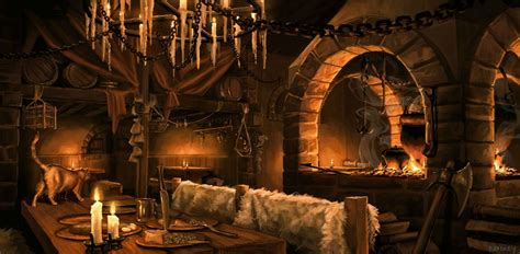 fantasy underground film room fantasy tavern interior by whatyoumaydo on deviantart