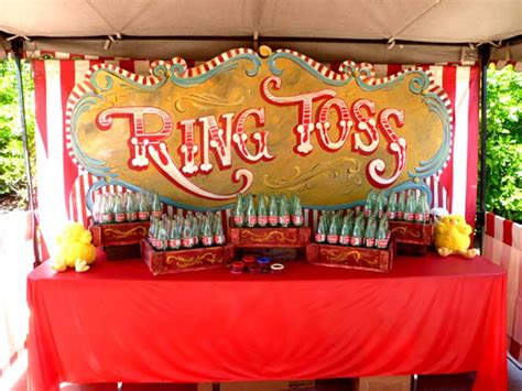 Fall Home Decorations by Coke Bottle Ring Toss Carnival Game Rick Herns Productions