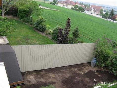 sichtschutz garten grun sichtschutz terrasse mauer