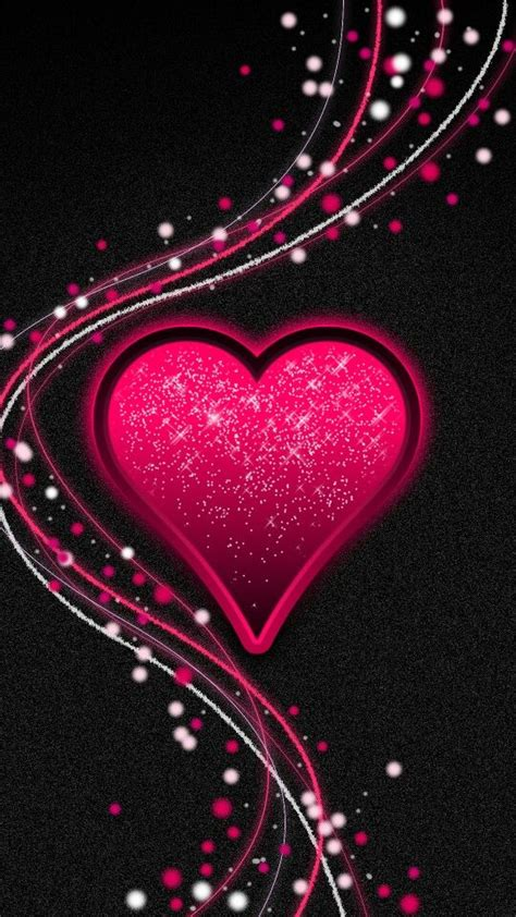 beautiful pink heart background ideas  pinterest
