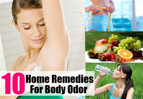 home remedies for odor treatments cure