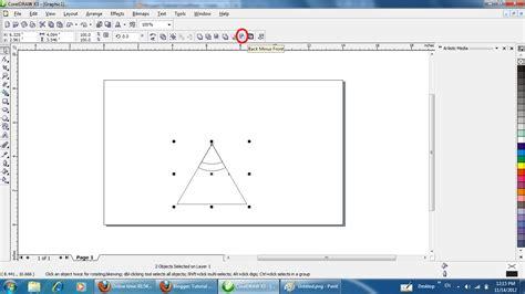 tutorial corel draw membuat tutorial coreldraw membuat logo coreldraw making a
