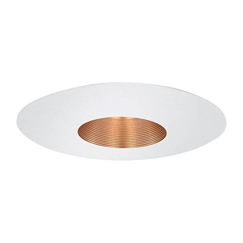 6 Recessed Lighting by 6 Quot Recessed Lighting Par 20 Copper Stepped Baffle White