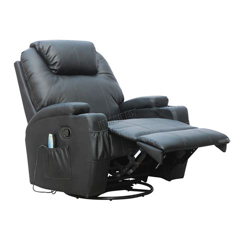loveseat armchair foxhunter bonded leather massage recliner chair cinema