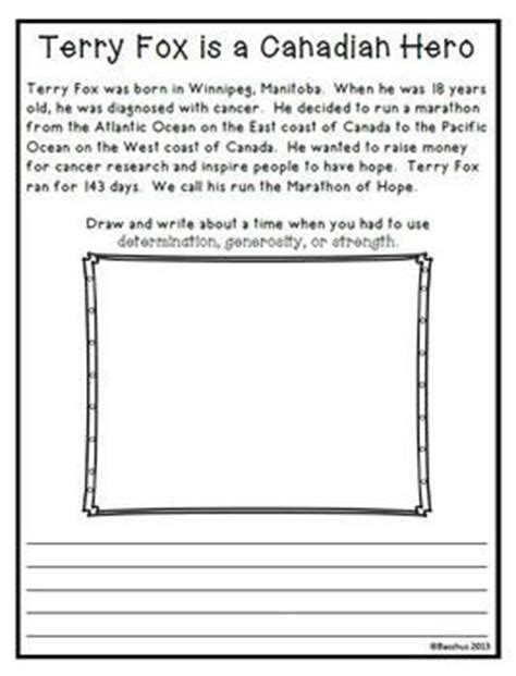 terry fox biography for students 17 best images about terry fox on pinterest activities